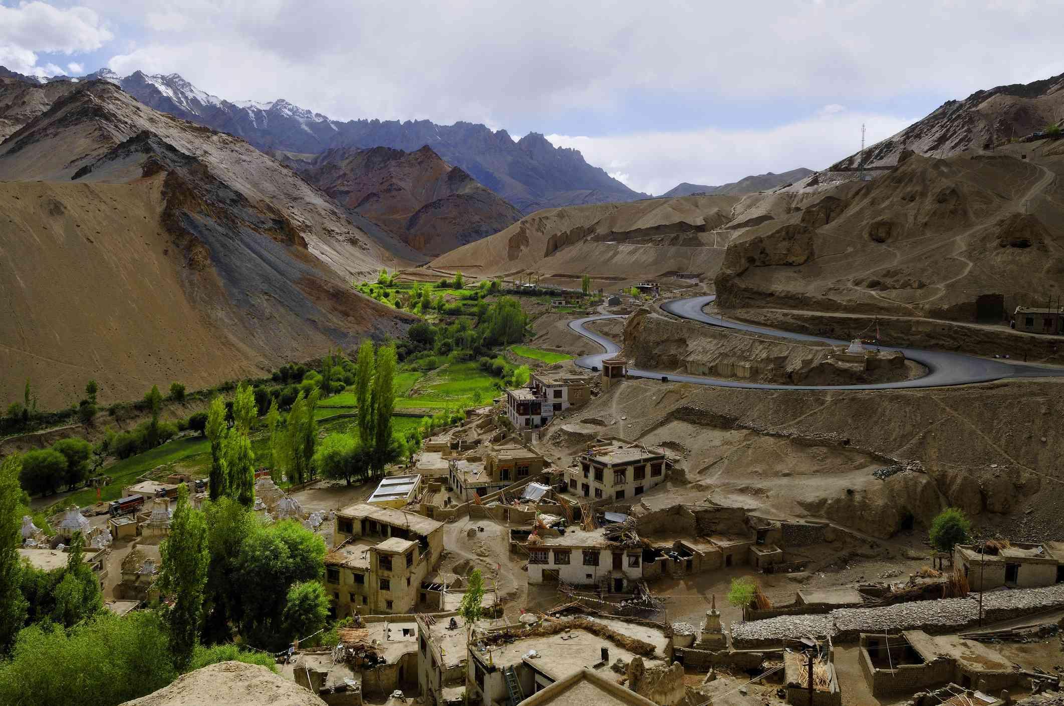 Village near Leh, Ladakh.