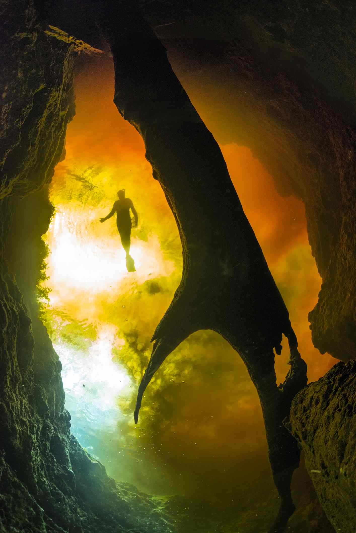 Diving in mysterious waters of Ginnie Springs
