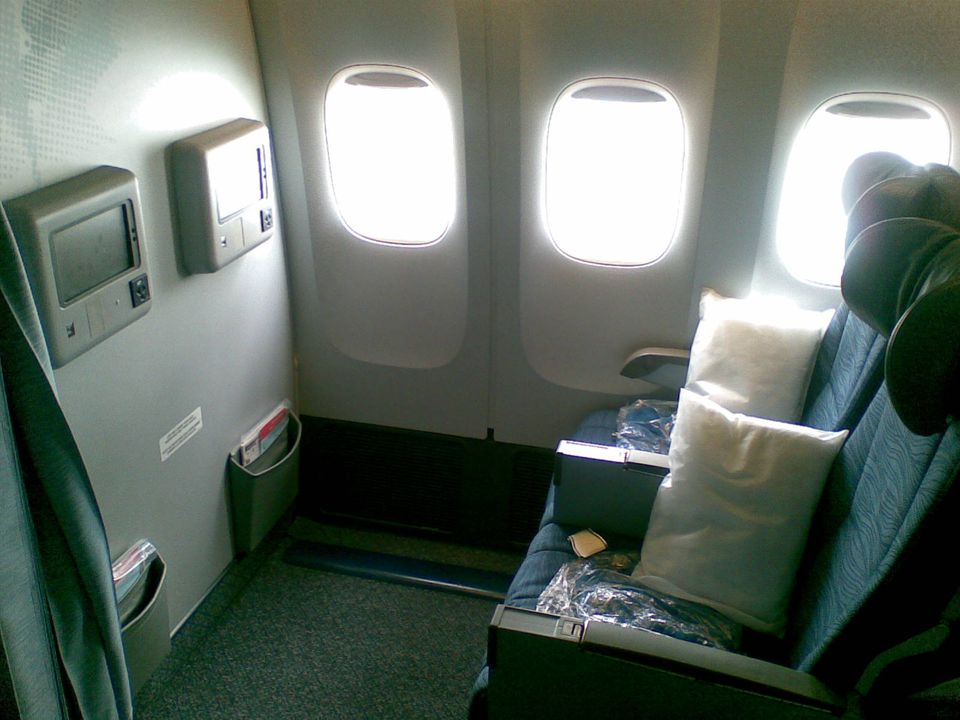 Example Of Bulkhead Seats On An Airplane Flickr Andrew Currie