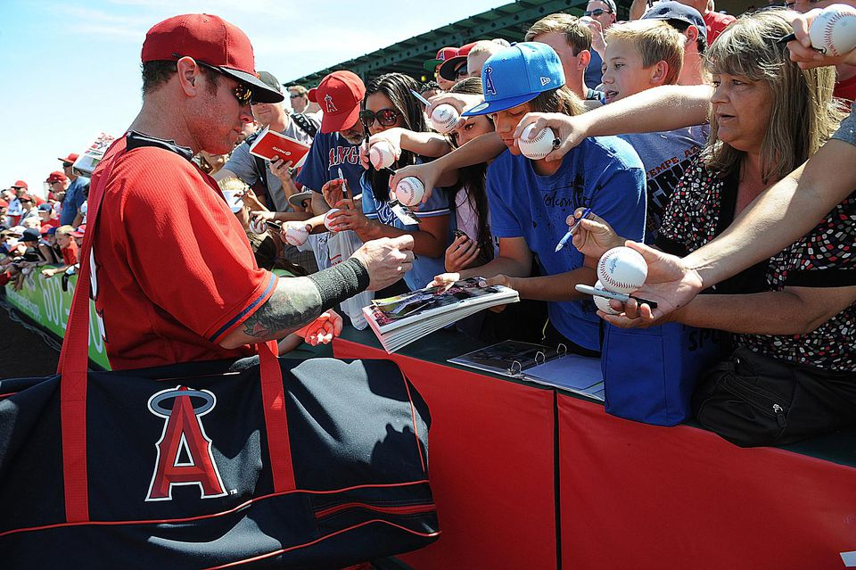 spring training angels