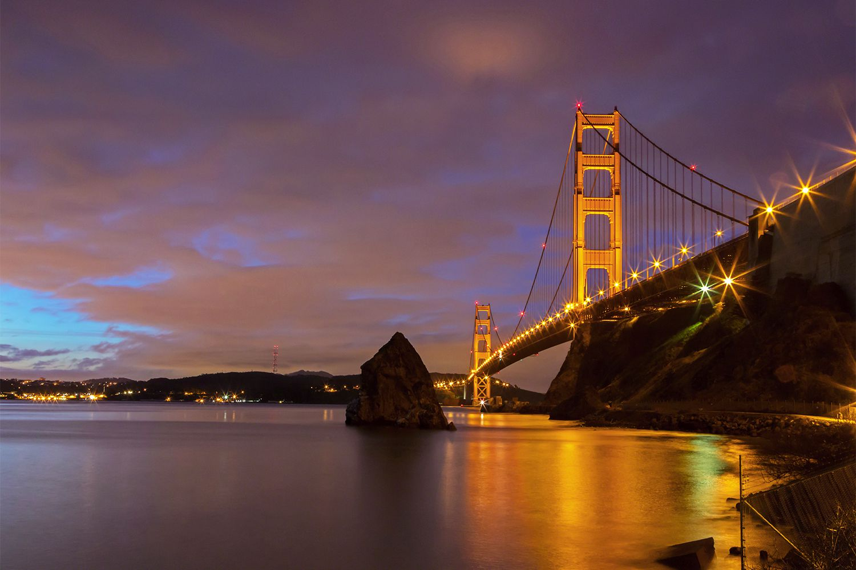 Golden Gate Bridge View from Fort Baker