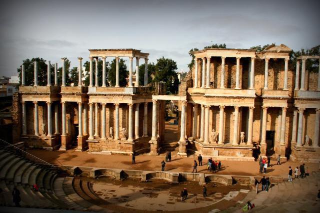 Roman ruins in Merida