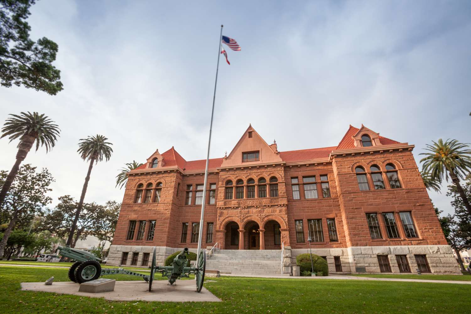 Old Courthouse Museum en Santa Ana, CA