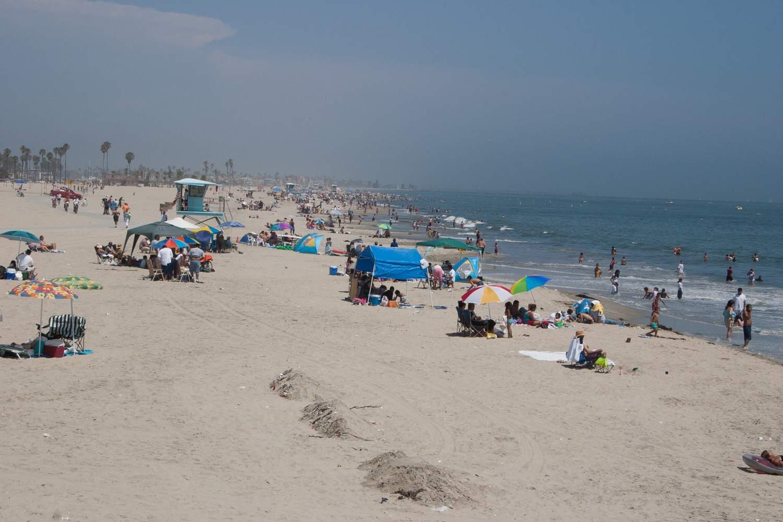 The Beaches Of Long Beach California