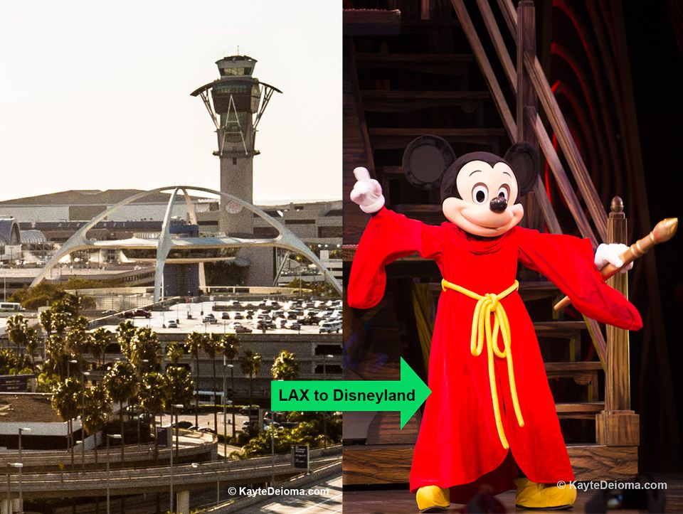 LAX to Disneyland