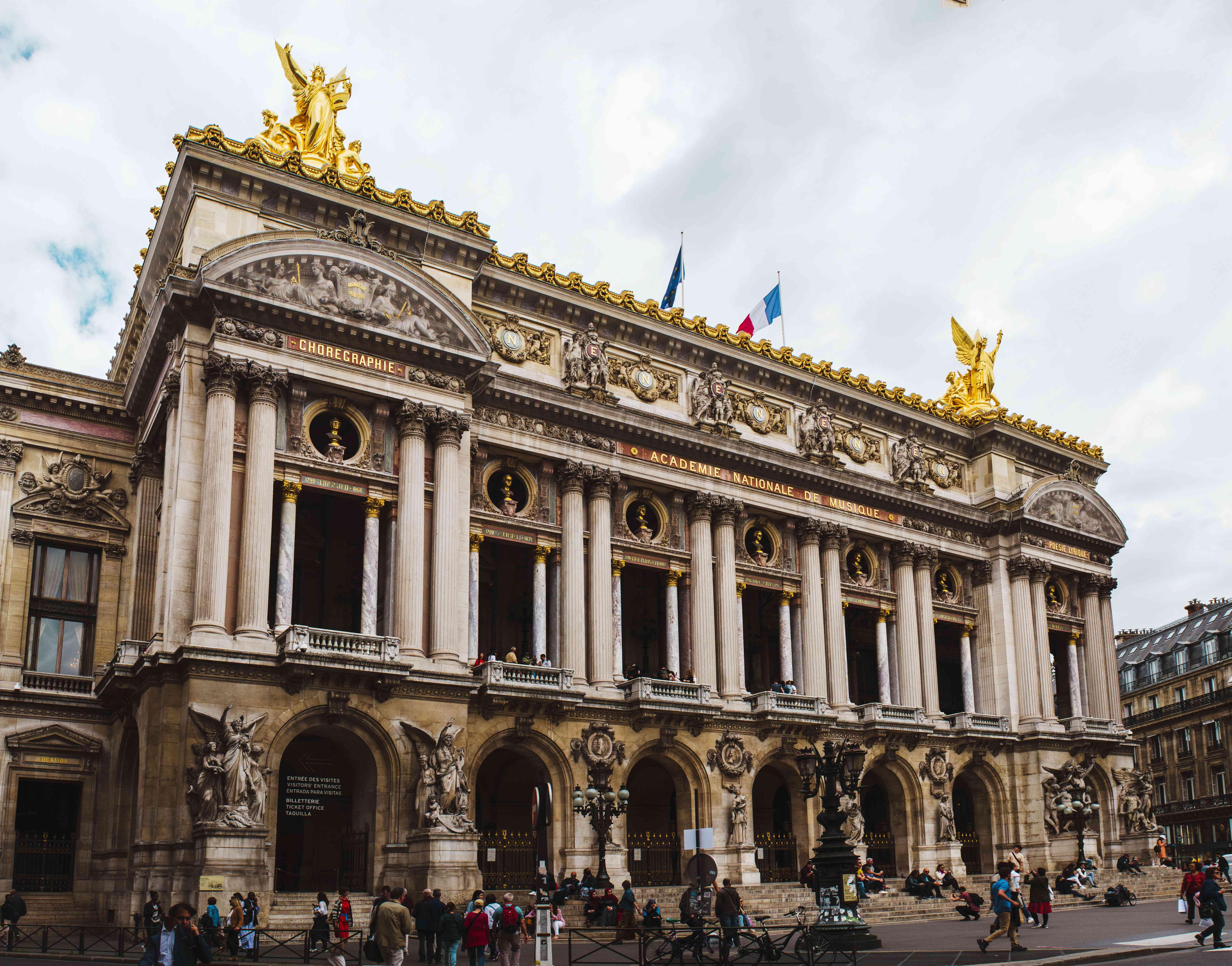 Exterior of Opera Garnier