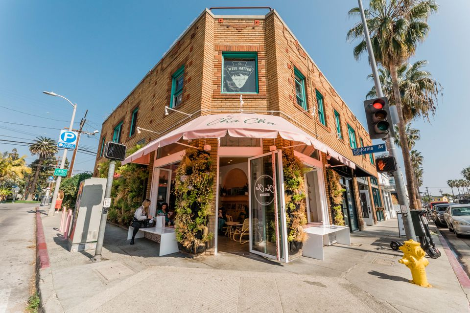 Store on Abbot Kinney Boulevard in Los Angeles, CA