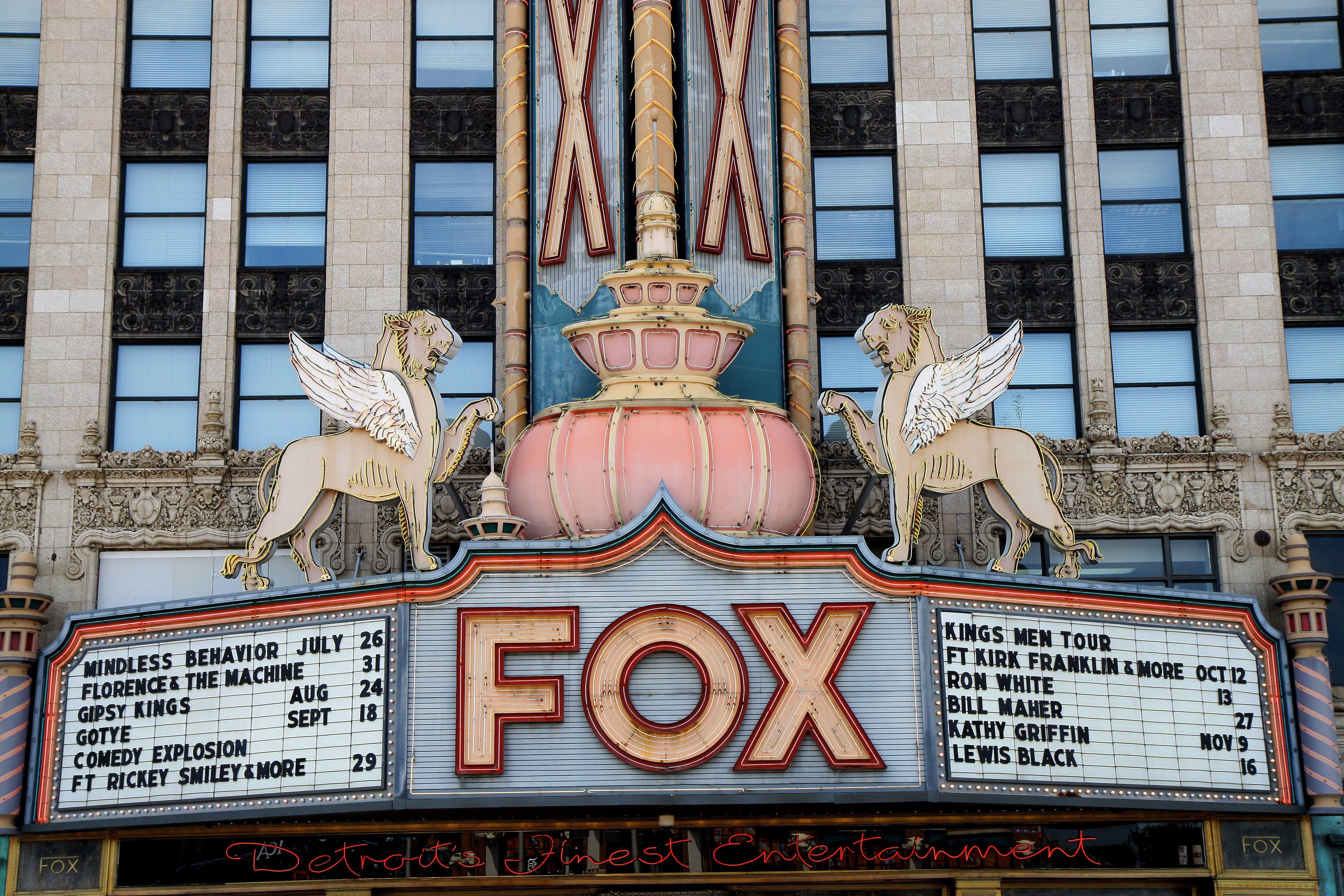 Fox Theater, Detroit, MI
