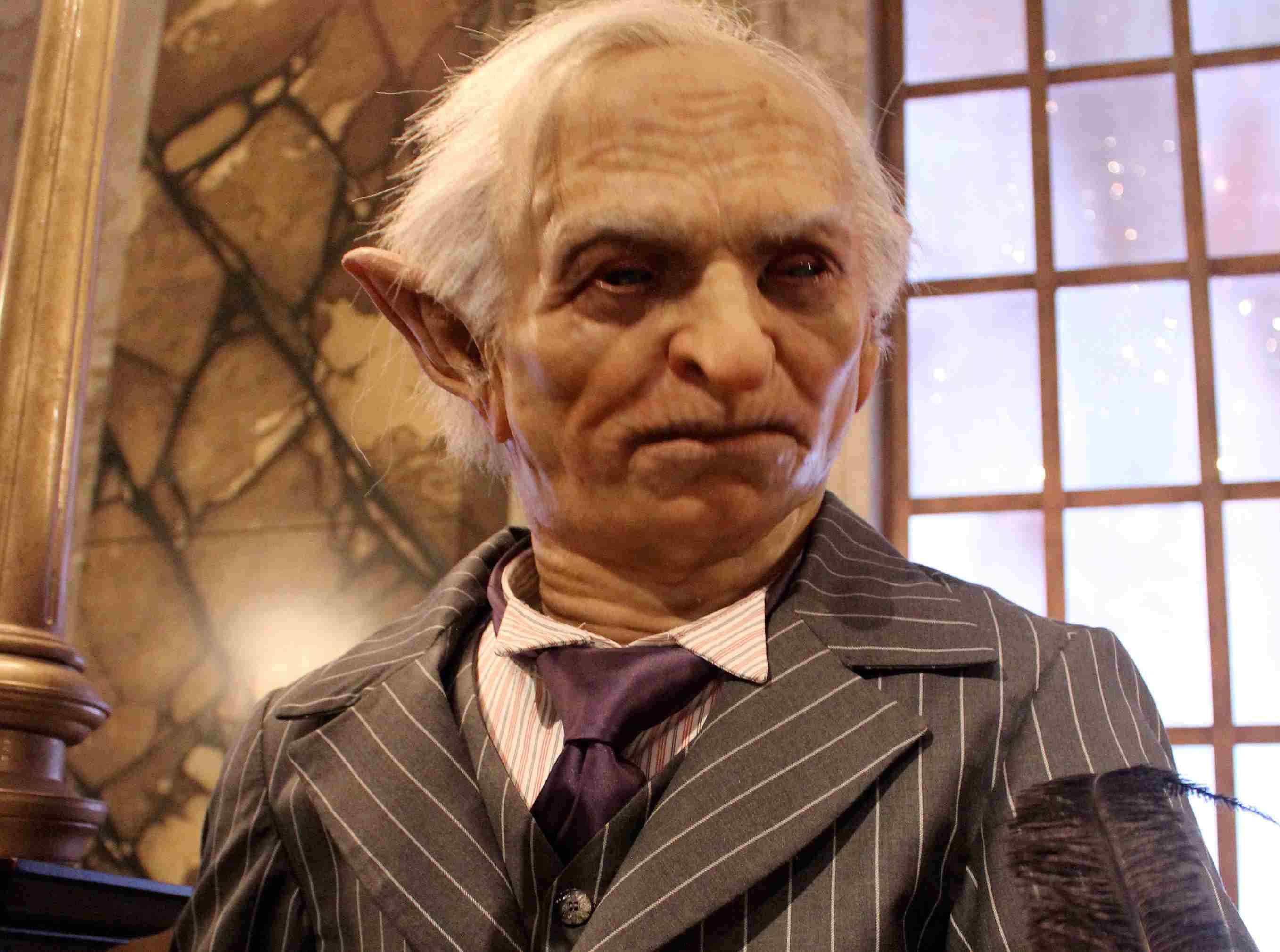 Gringotts Goblin at Universal Orlando