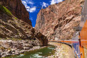 Royal Gorge Train, Canon City, Colorado