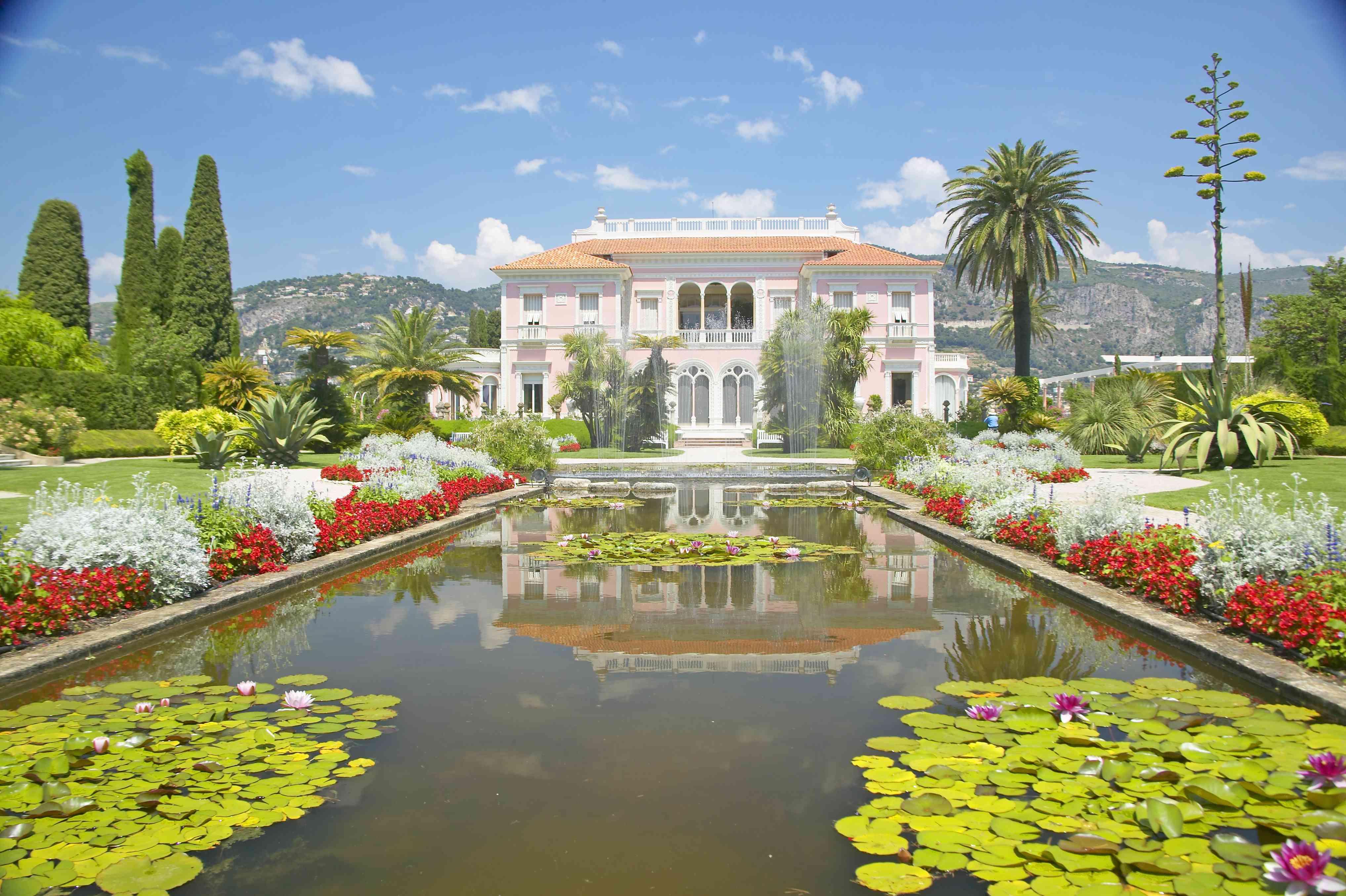 The Gardens and Villa Ephrussi de Rothschild, Saint-Jean-Cap-Ferrat, France