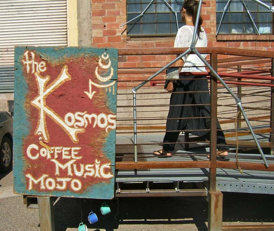 Sign at Kosmos