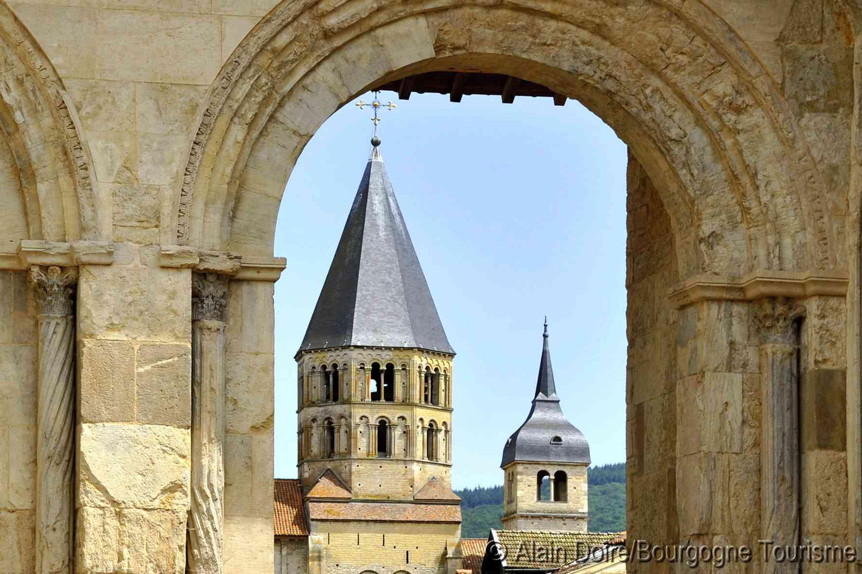 Cluny Abbey in Burgundy