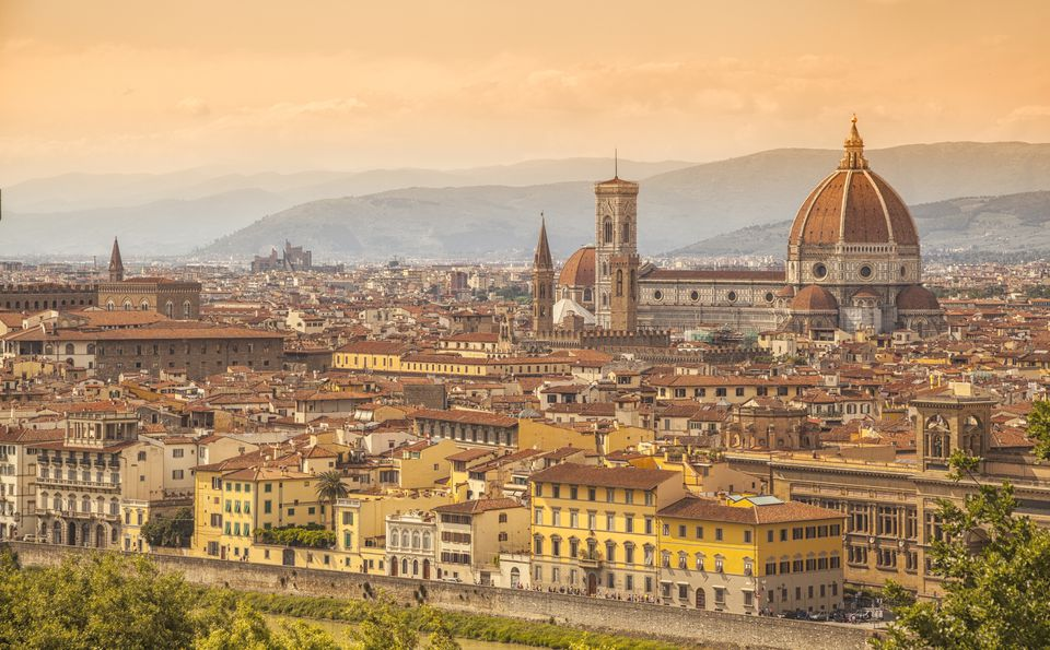Firenze skyline view