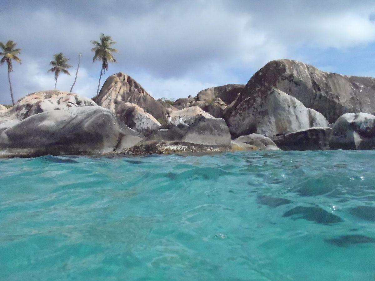 Snorkeling at The Baths on Virgin Gorda
