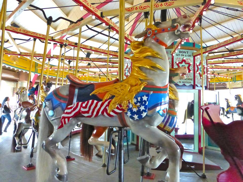 Carousel Horse at Hempstead Lake State Park, NY