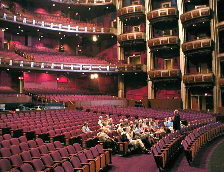 Touring the Dolby Theatre in Hollywood