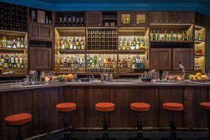 The bar at Pouring Ribbons
