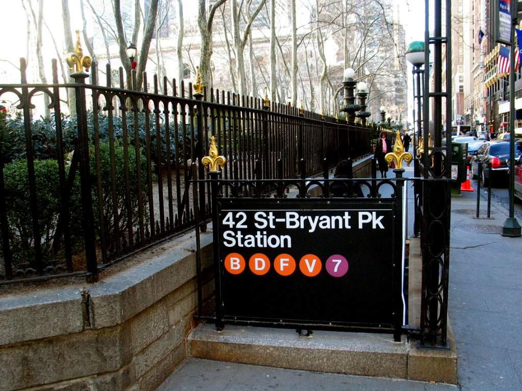 42nd Street/Bryant Park