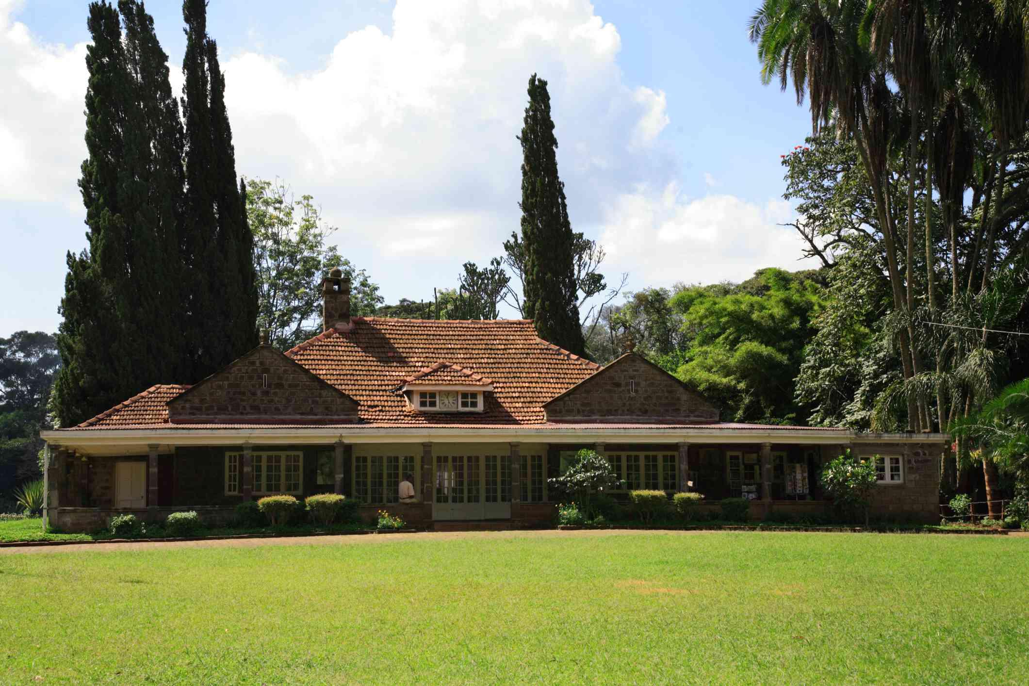 The Karen Blixen house Nairobi Kenya