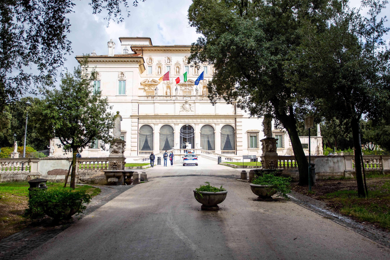 Galleria Borghese in Rome. Italy