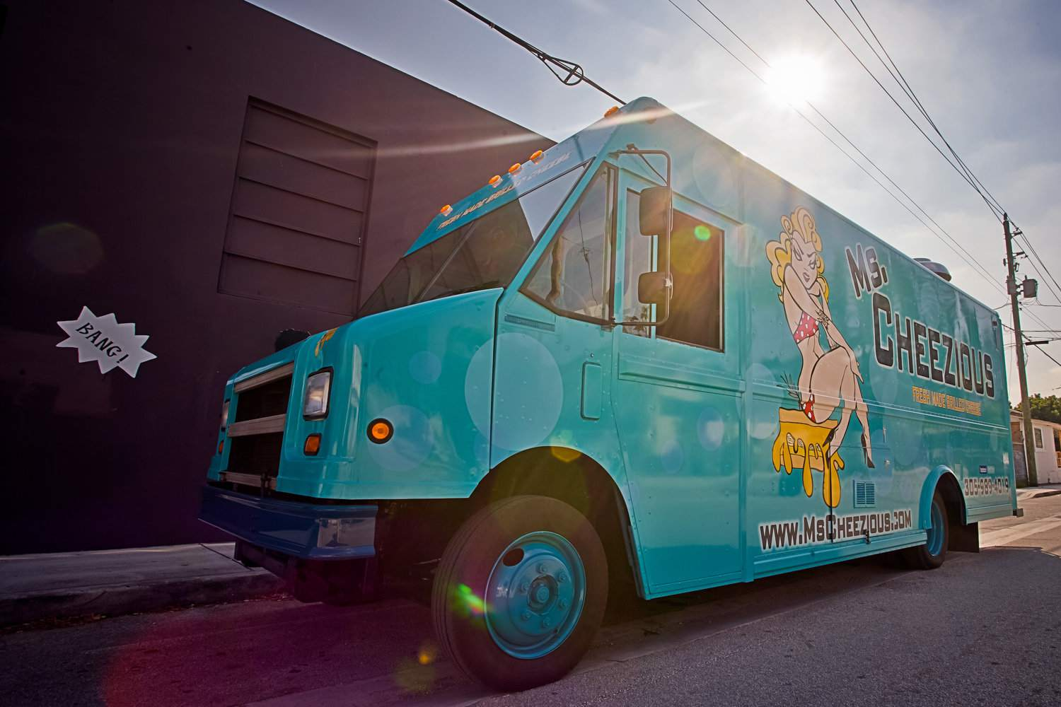 The Ms. Cheezious food truck