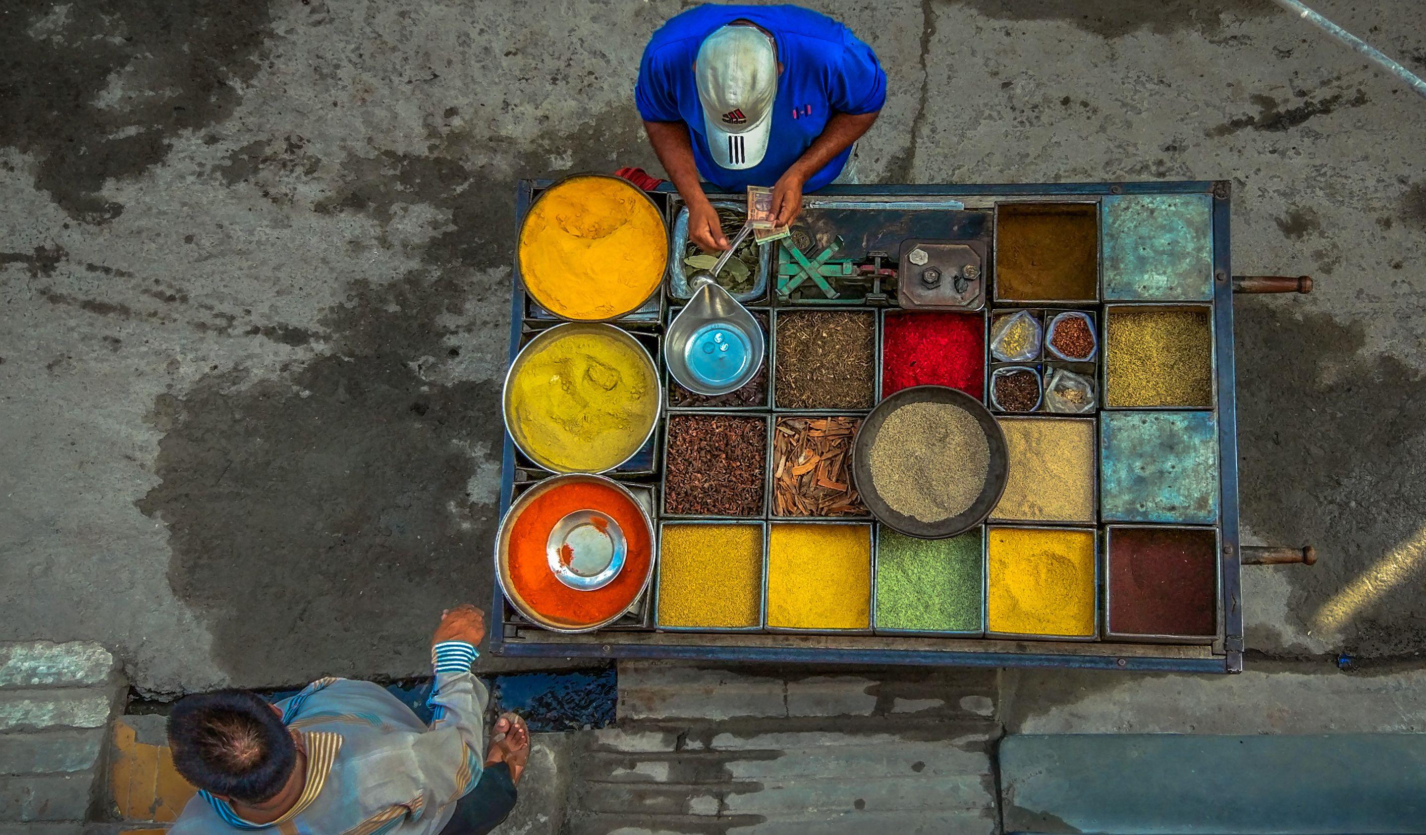 Spices Vendor Ujjain