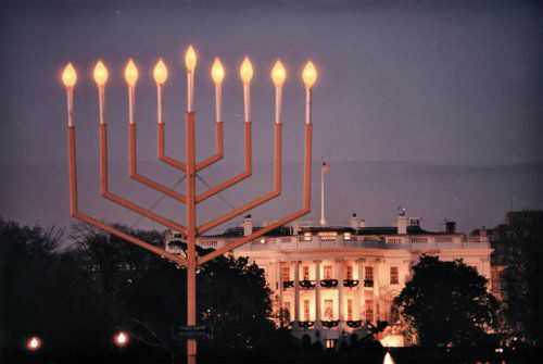 National Hanukkah Menorah