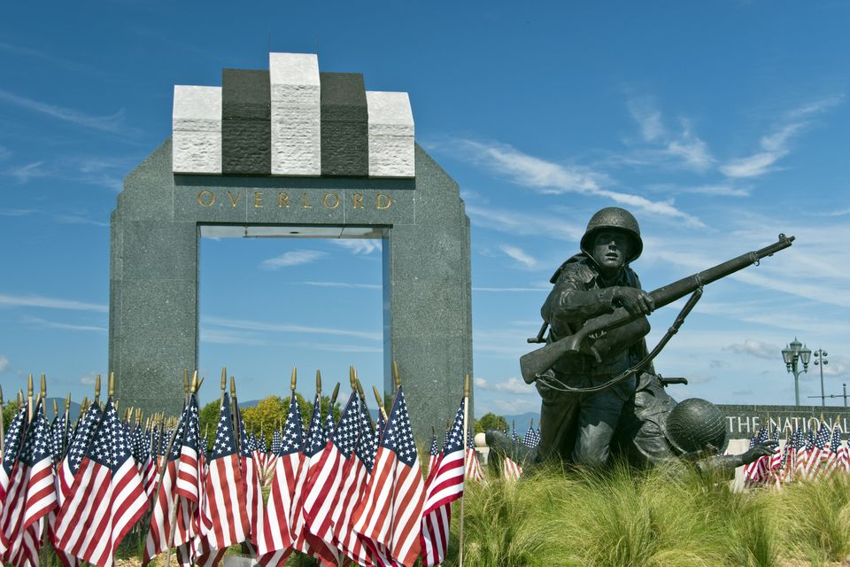 Overlord Arch, Nat. D-Day Memorial, VA