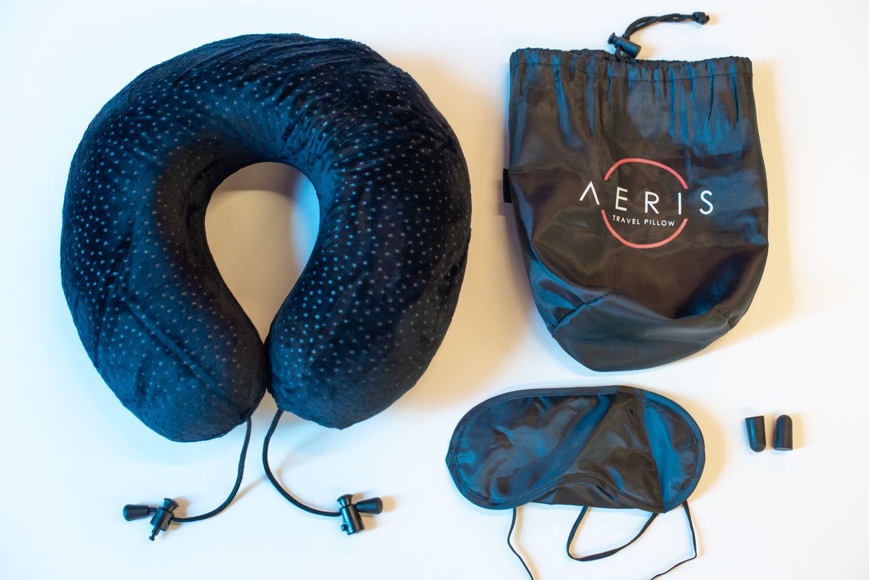 Aeris Memory Foam Travel Pillow Review