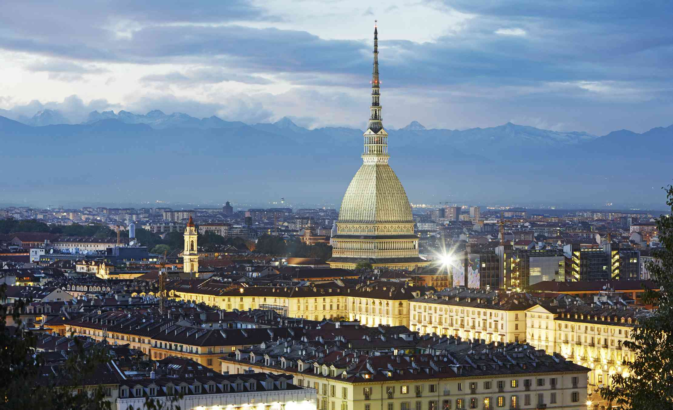 Turin cityscape