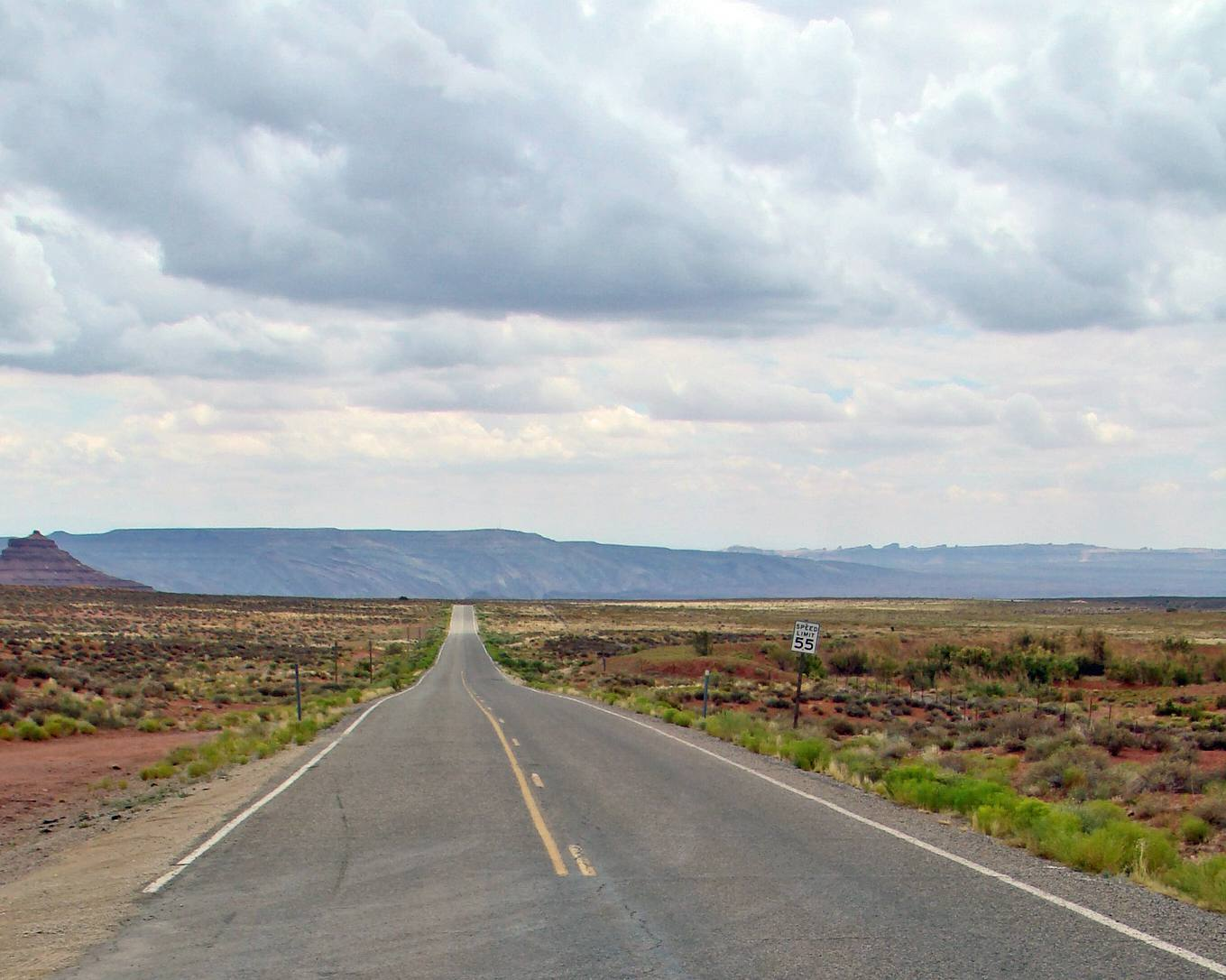 open road in the USA