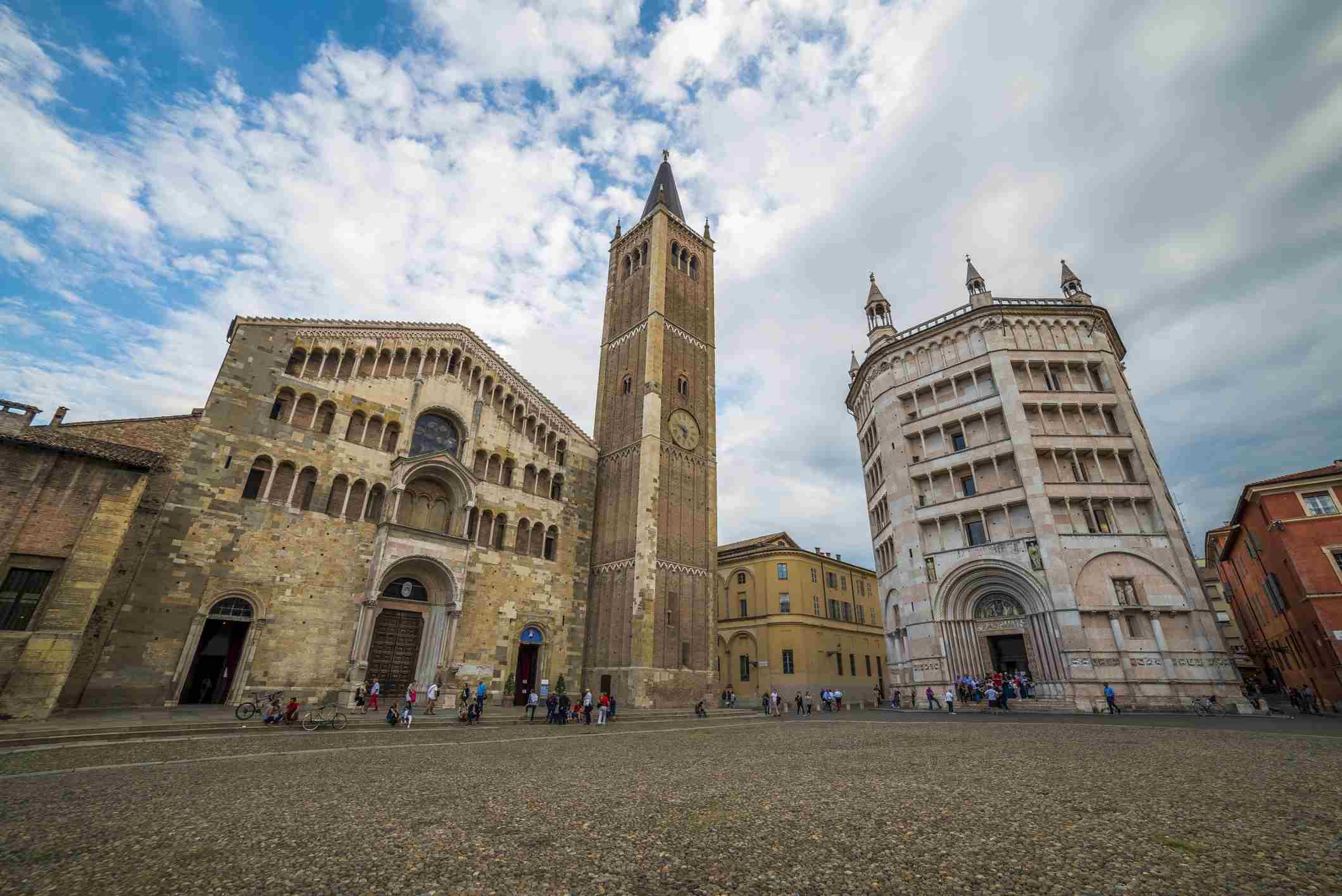Catedral de Parma y Baptisterio de Parma