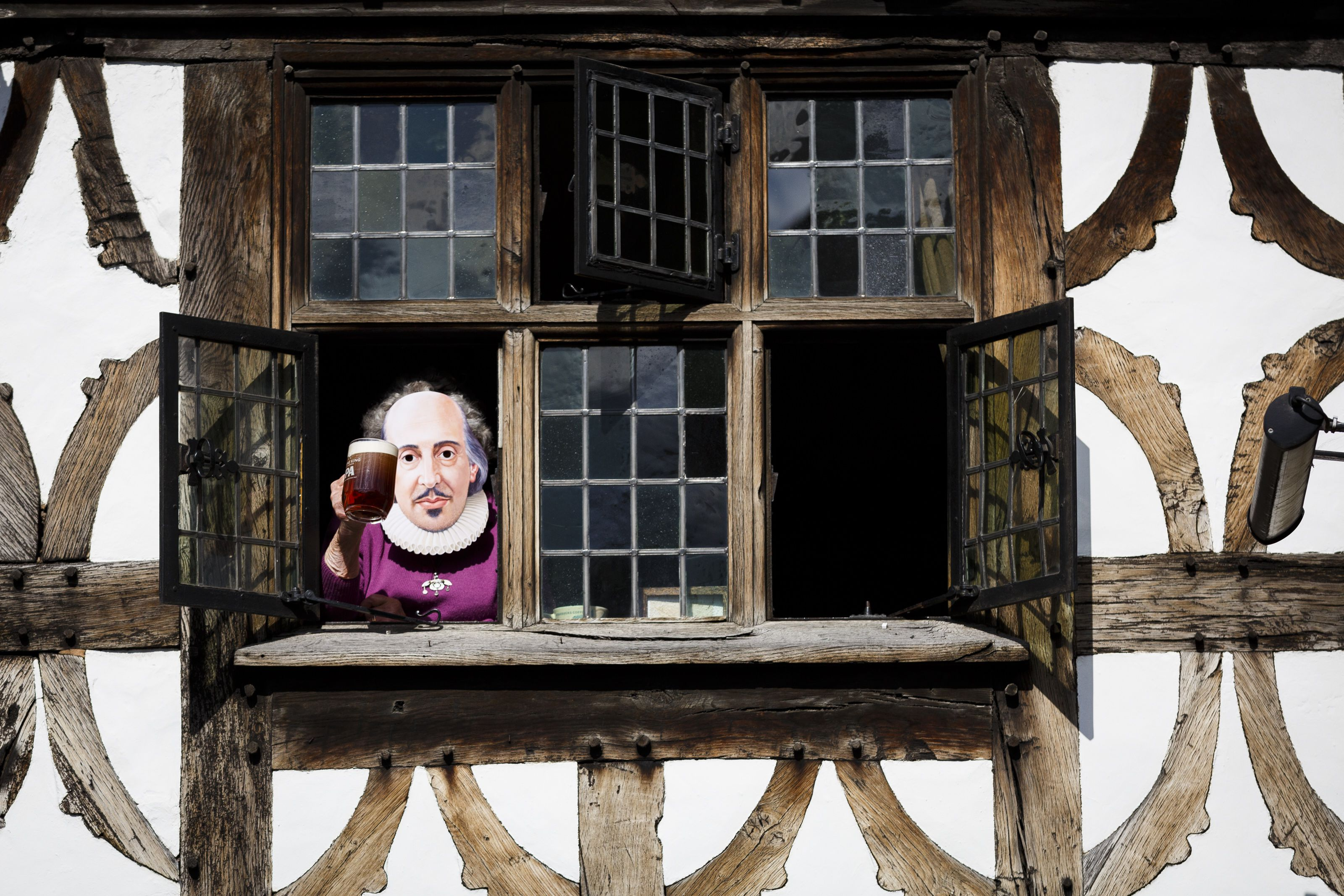 Shakespeare at the window