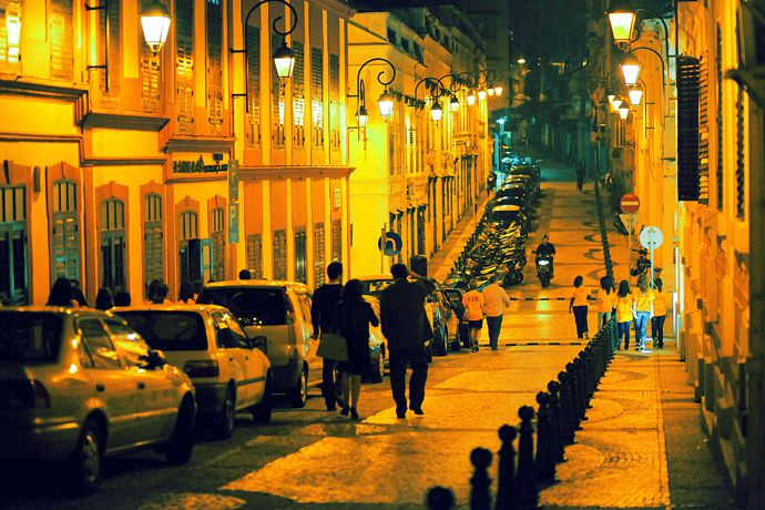 Macau at night