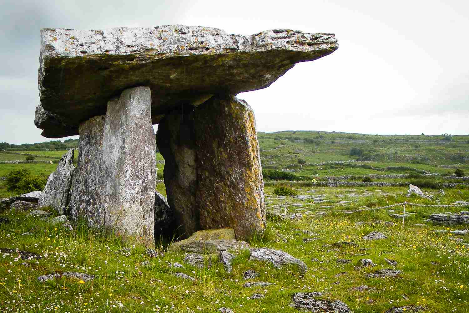 The Burren - bleak at times, then mysterious