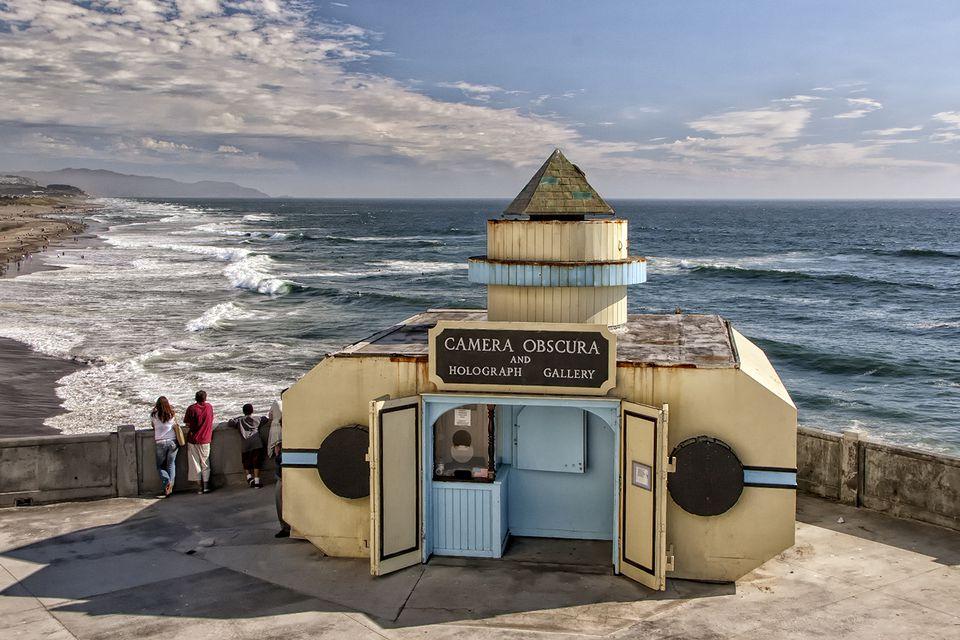 Camera Obscura at Ocean Beach