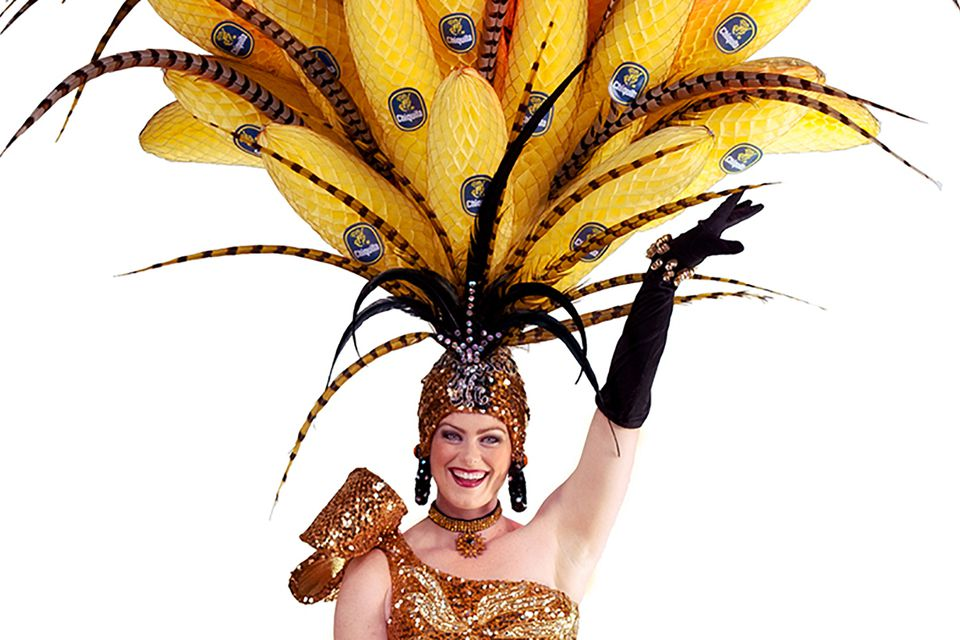 Banana Carmen in Beach Blanket Babylon
