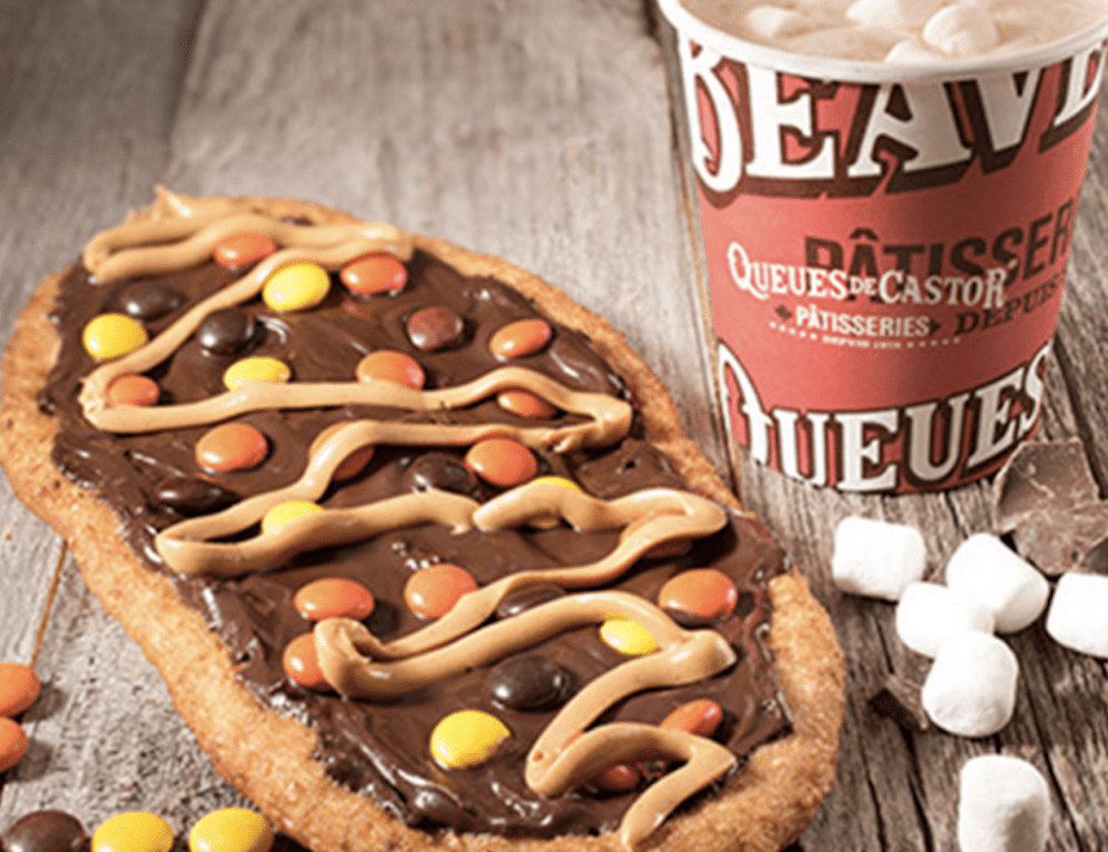 BeaverTails pastries are made with whole wheat, hand-stretched, cooked fresh and served hot with toppings of your choice.