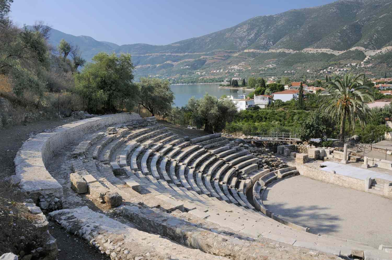 The Little Theatre of Ancient Epidaurus