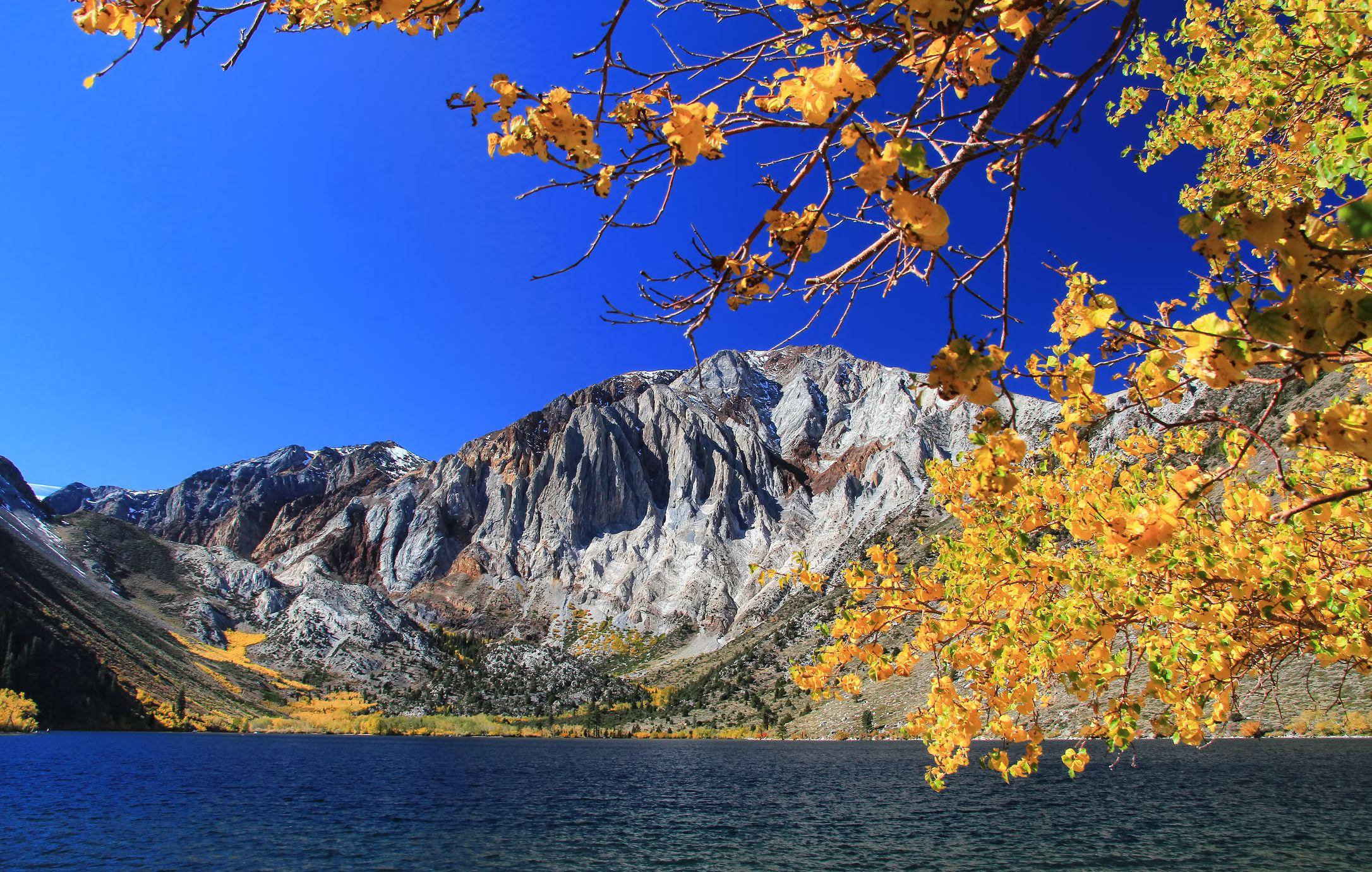 Fall Foliage Drives In Northern California