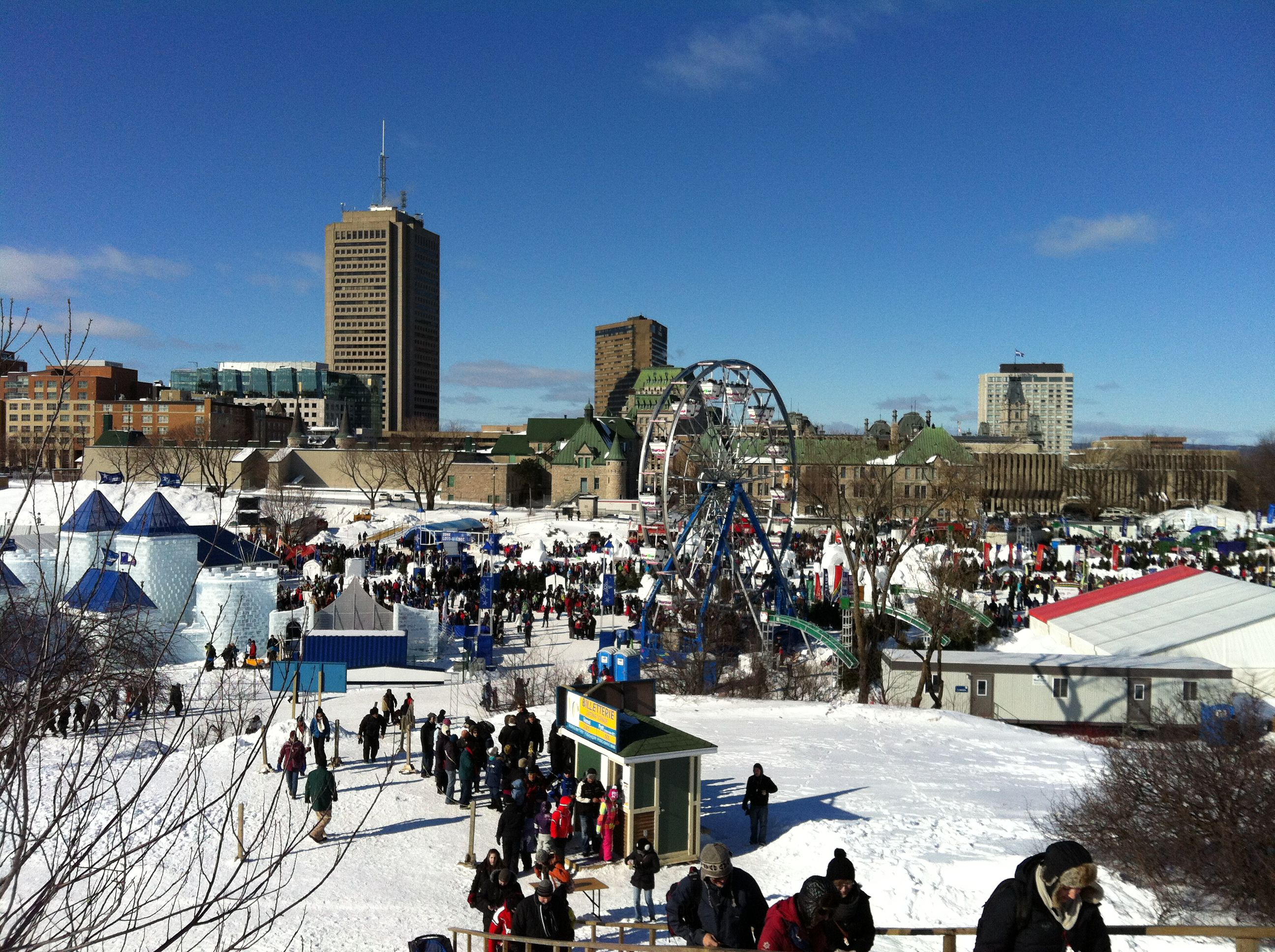 Quebec Winter Carnival's Place Desjardins
