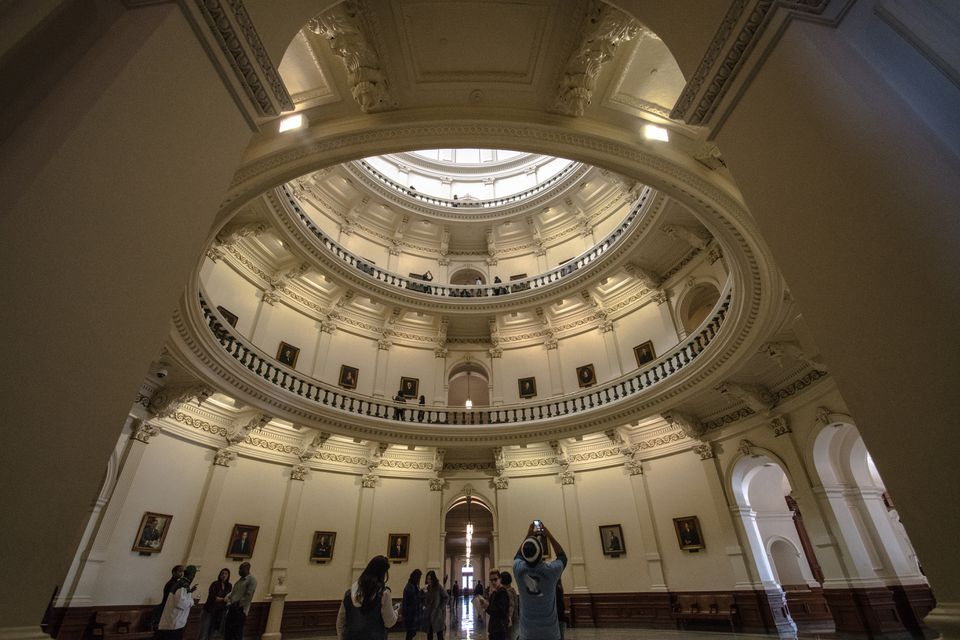 Interior of the Capital Building
