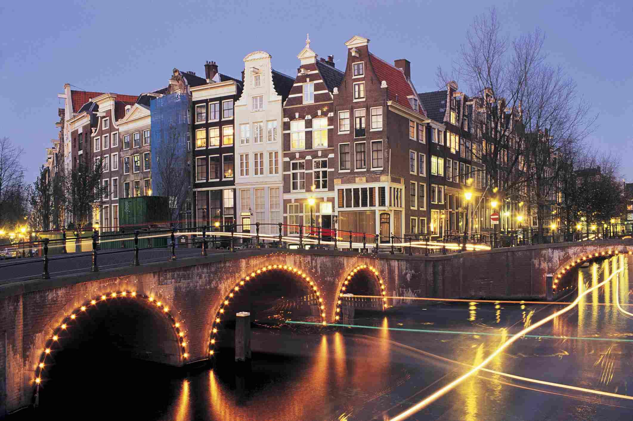 Leidsegracht Canal, Amsterdam, Netherlands