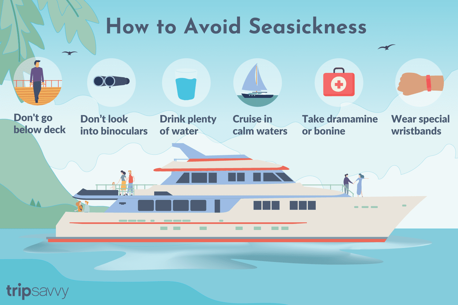 How to Avoid and Treat Seasickness