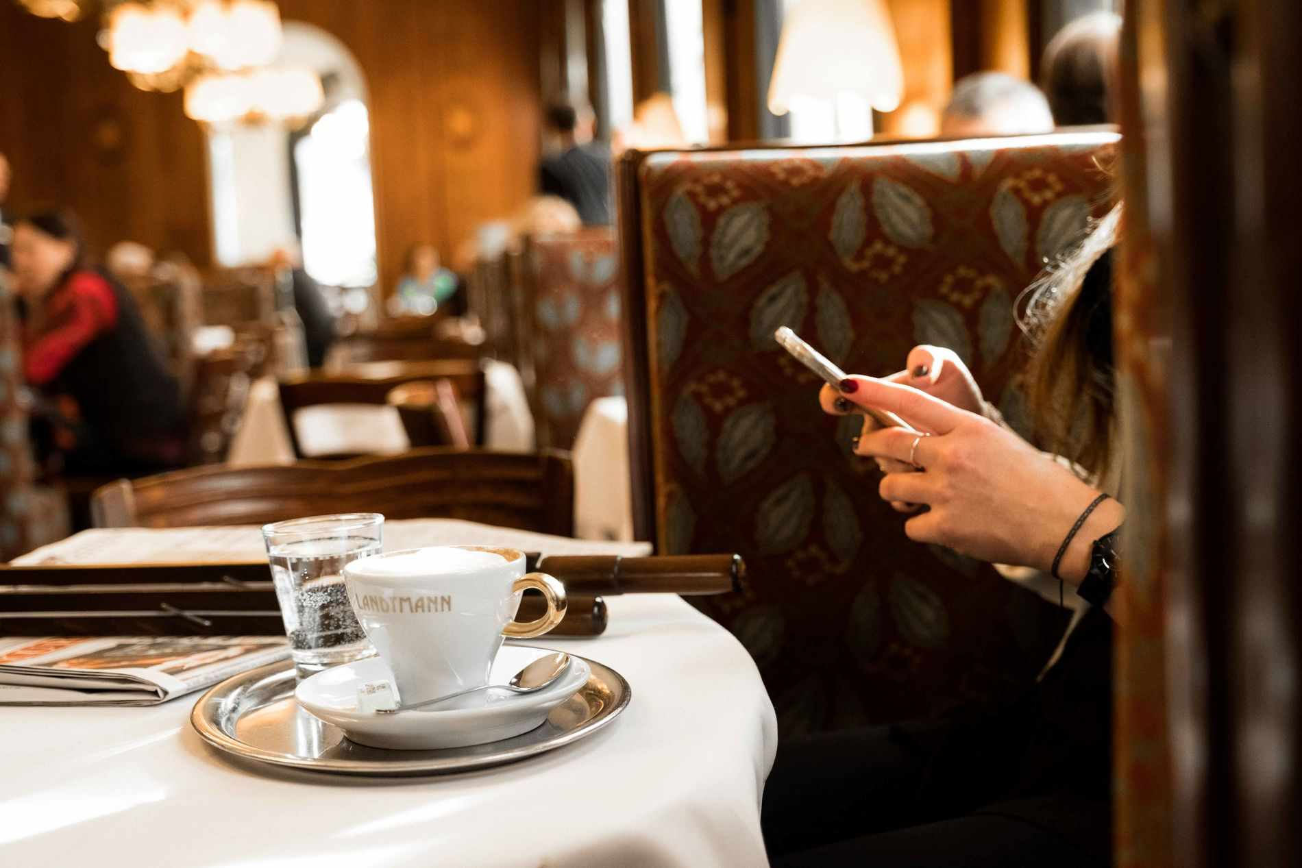 Coffee at Cafe Landtmann, Vienna