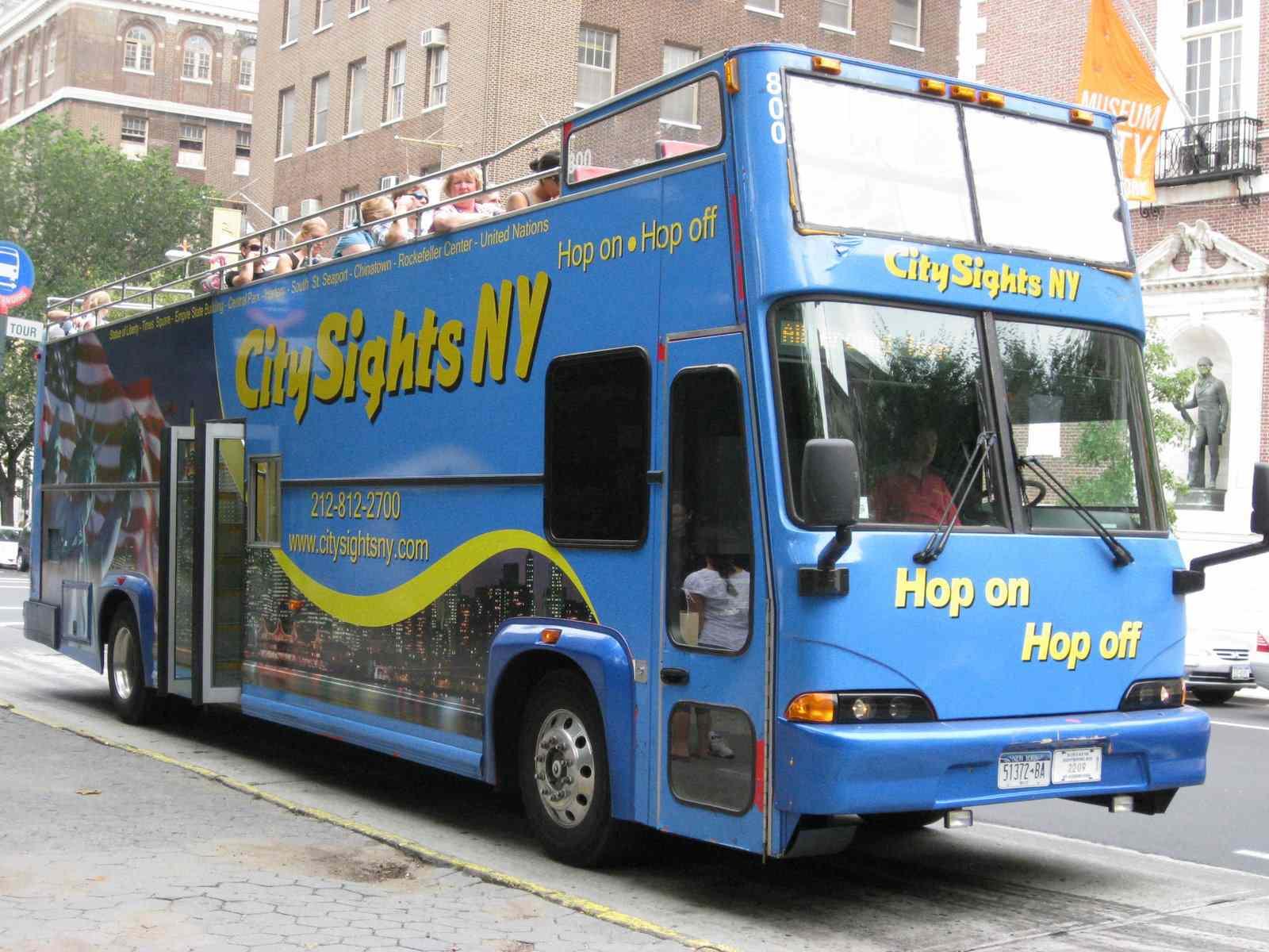 CitySights NY Double Decker Bus