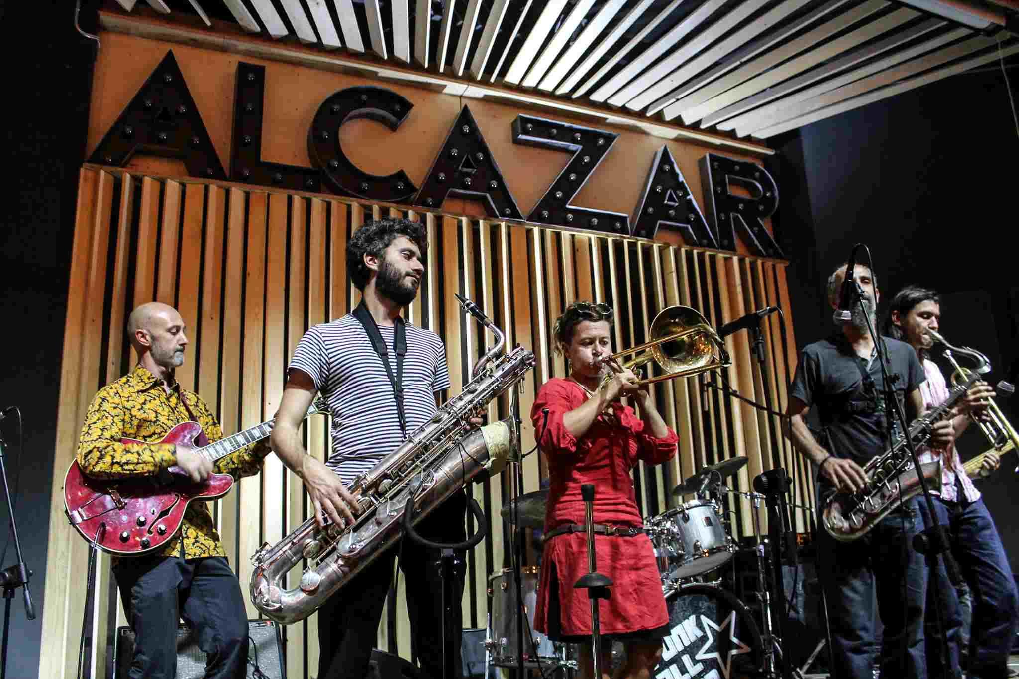 Funkallisto at Alcazar Live
