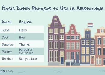 Basic Dutch Phrases in Amsterdam