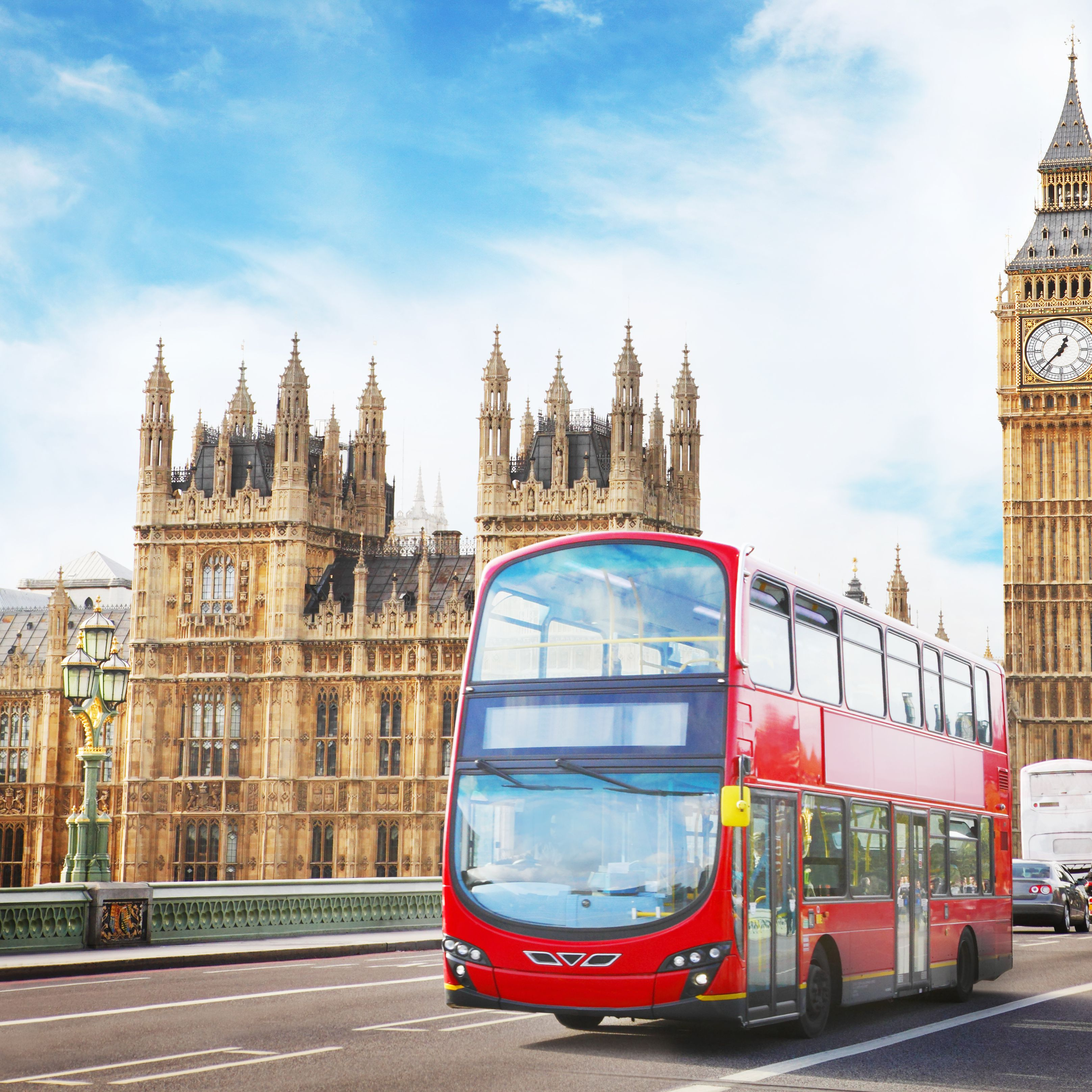 Riding London's Double-Decker Buses